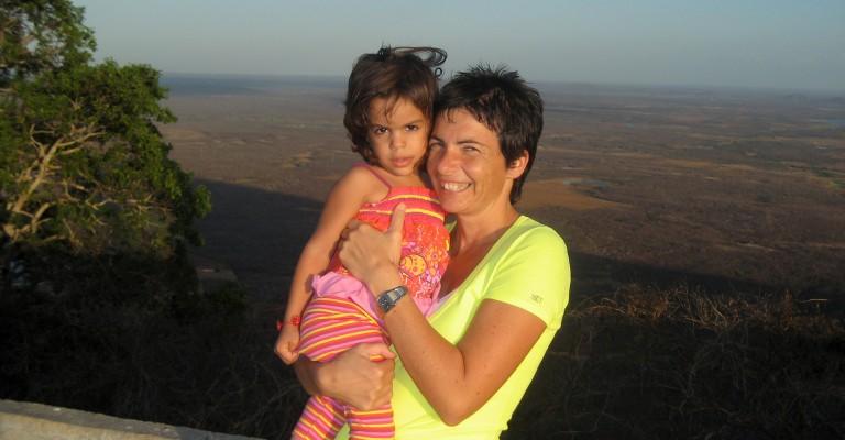 Chiara Amirante in una missione in Brasile - Nuovi Orizzonti