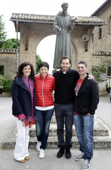 Daniela Martucci, Chiara Amirante, Don Davide Banzato, Paolo Zanni