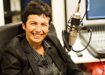 Comunicazione: Chiara Amirante in studio audio - Nuovi Orizzonti