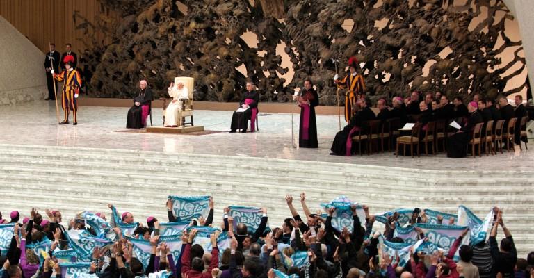 Udienza papa Benedetto XVI - Cavalieri della Luce