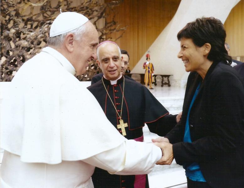 Papa Francesco e Chiara Amirante - Nuovi Orizzonti