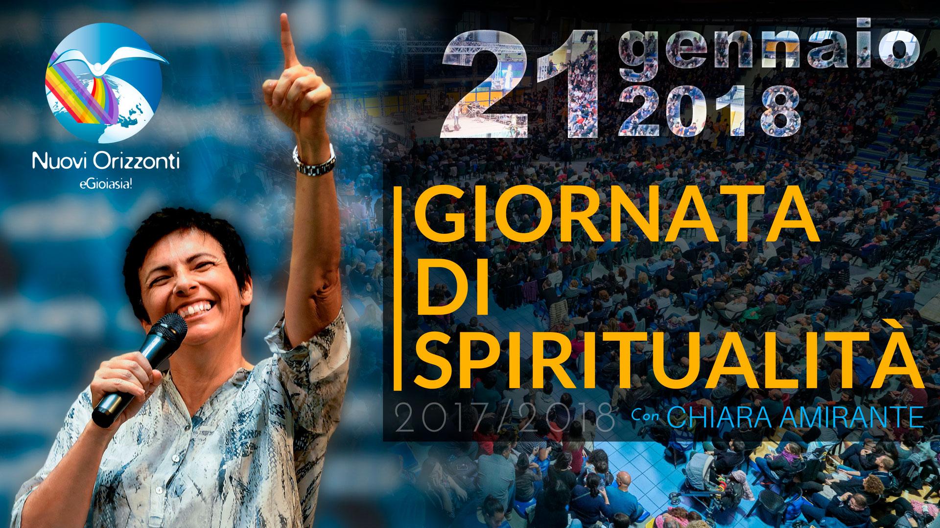 Giornata Spiritualità Gennaio - Nuovi Orizzonti