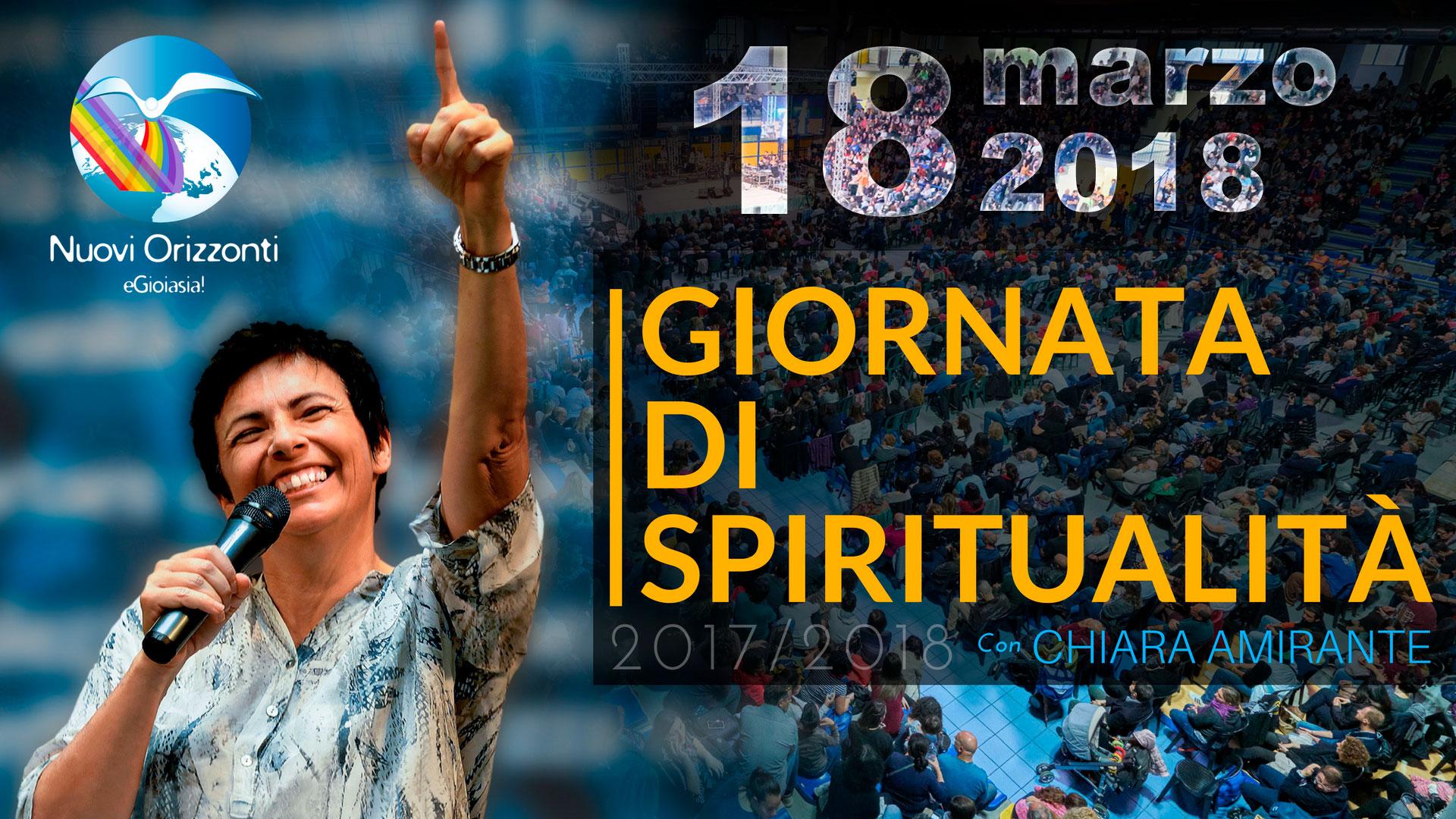 Giornata Spiritualità Marzo - Nuovi Orizzonti