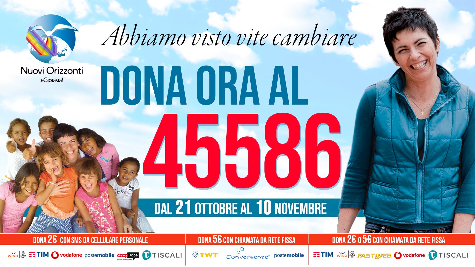 45586 SMS Solidale - Nuovi Orizzonti