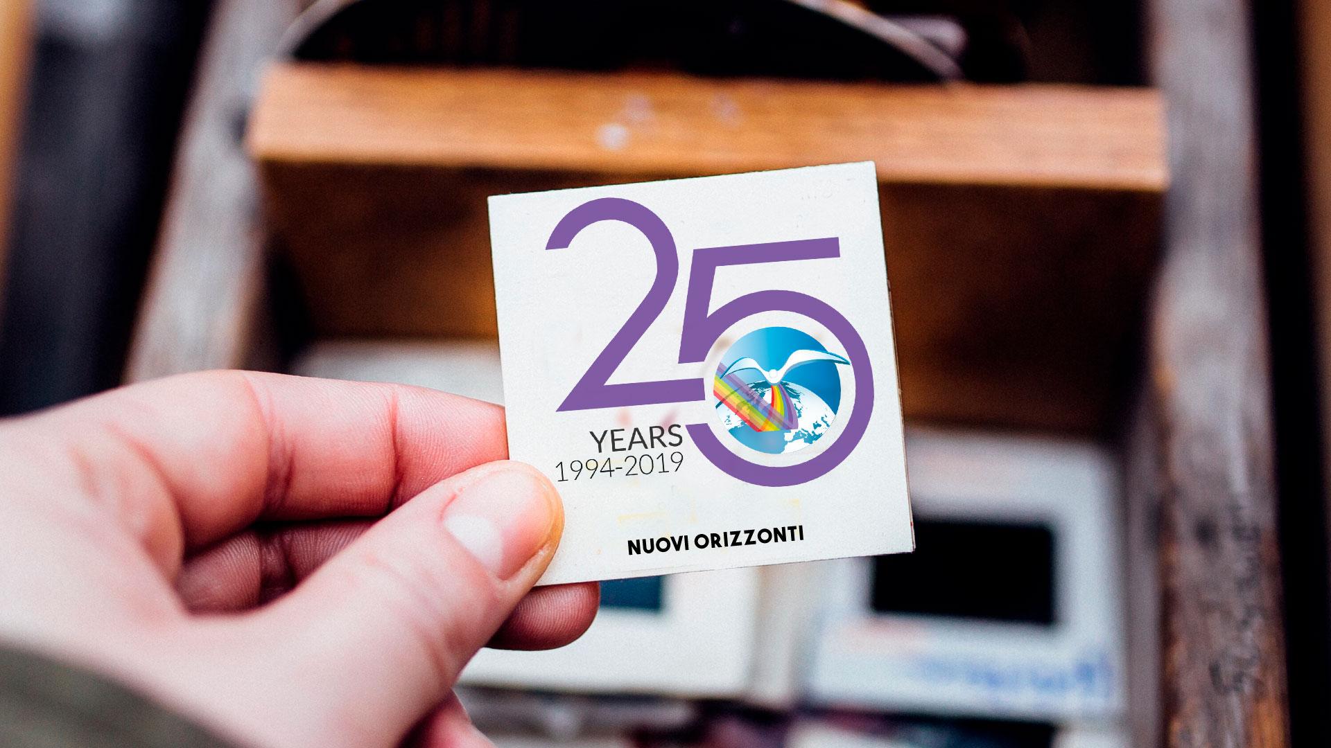 25 Anni, compleanno - Nuovi Orizzonti