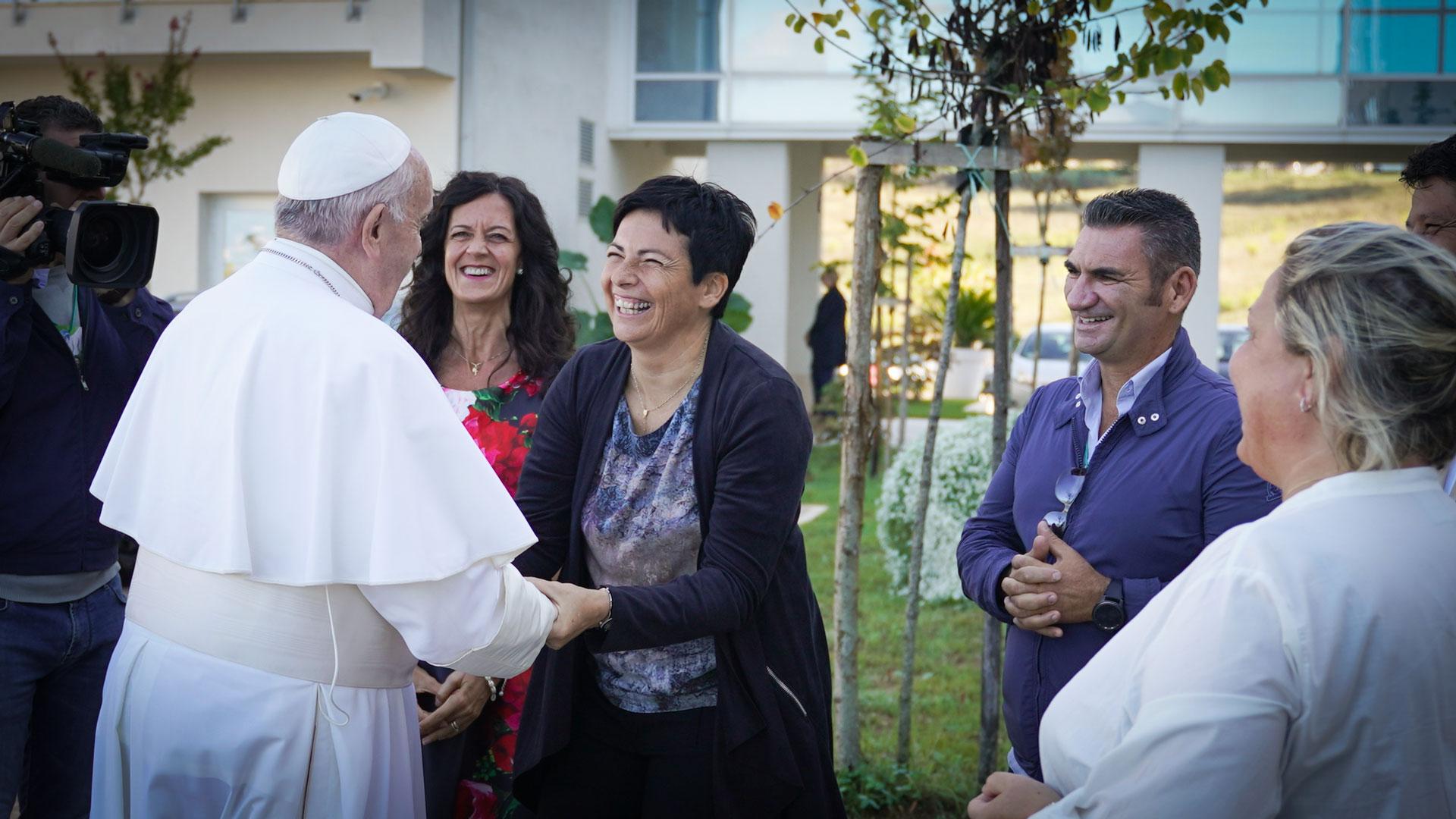 Papa Francesco, visita - Nuovi Orizzonti
