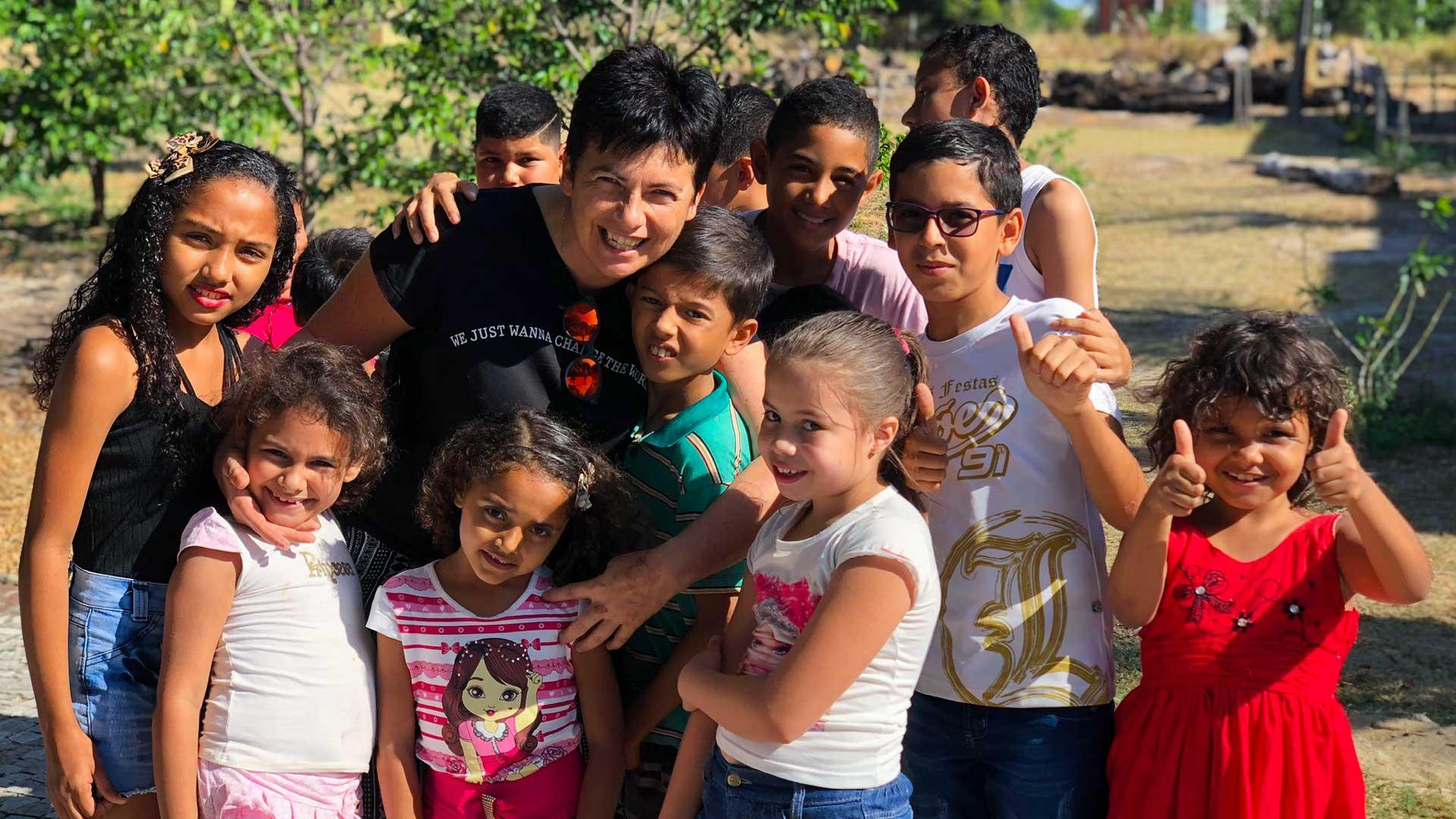 Chiara Amirante, Brasile - Nuovi Orizzonti