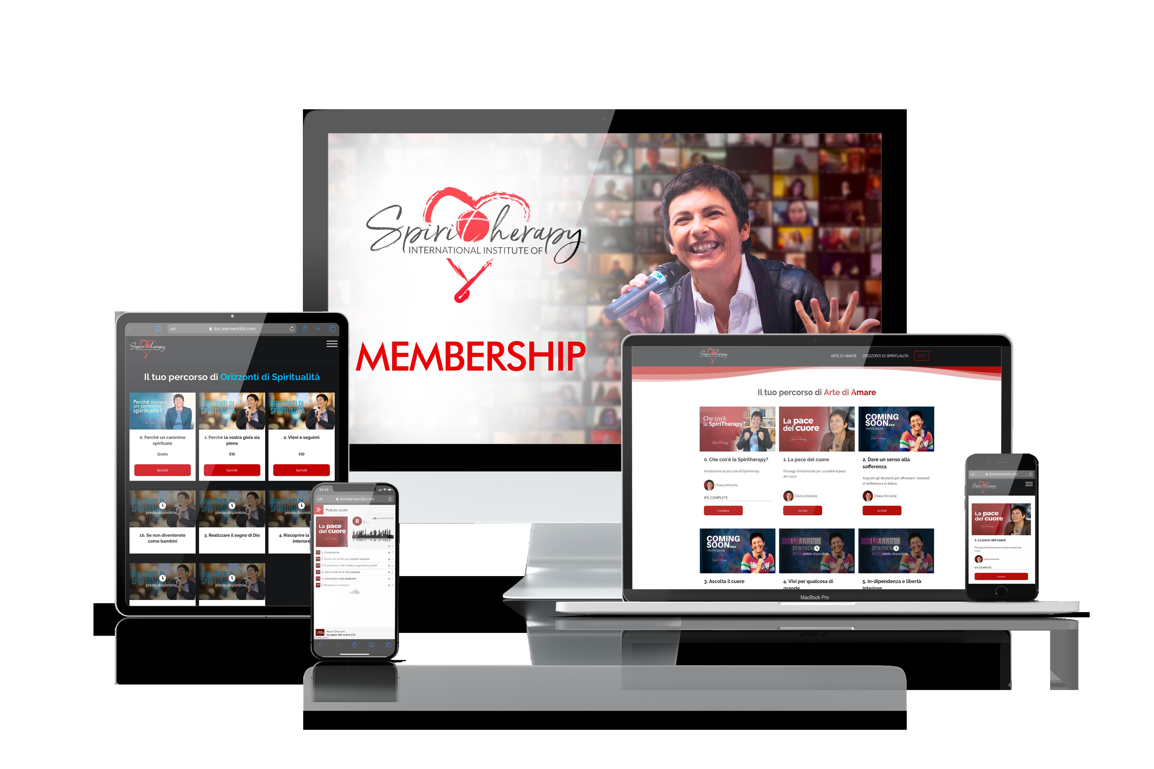 Spiritherapy Membership - Nuovi Orizzonti